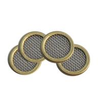 China 25.4mm Disc Wire Filter Mesh Dutch Plain Twill Weave Style 2 Microns - 300 Microns on sale