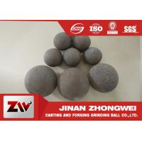 Best Forged and high cr cast grinding ball for ball mill used in mining wholesale