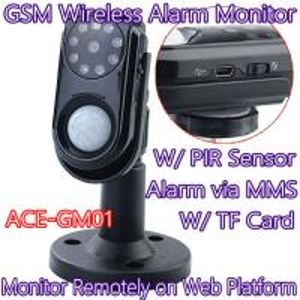 Best Home Intelligent GSM Wireless Photo MMS Alarm Camera Monitor W/ PIR Theft Burglar Detect wholesale