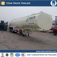 China 1 Compartment 50000 liters diesel fuel tank trailer For Mali , chemical tank trailer on sale