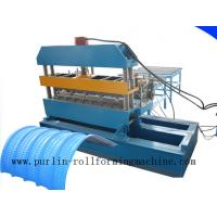 Best 7.5KW Hydraulic Bending Machine / Pipe Rolling Machinery For 0.7mm - 1.5mm Cable Tray wholesale