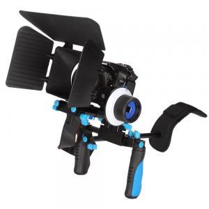 Best  DSLR RIG Kit - Shoulder Mount +Follow Focus+Matte box Kit For dv / hdv / dslr Camera wholesale