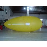 Cheap Yellow Zeppelin Helium Balloon Inflatable Waterproof For Outdoor Sports for sale
