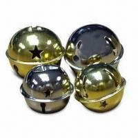 Best L-shaped Jingle Bell with Nickel or Brass-plated Finish, Available in Various Sizes wholesale