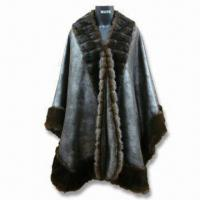 Best Faux Fur Coat, Made of 100% Polyester, Available in Black wholesale