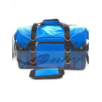 Best Blue 500D Polyester PVC Travel Cooler Bag With Screen Printing / Embossing Logo wholesale