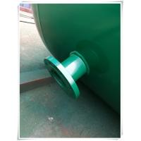 Cheap 10mm Thickness Vertical Compressed Air Reservoir Tank With Flange / Screw Thread for sale