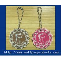 Best Flower Promotion Products Custom Key Chains / Novelty Soft PVC Rubber Keyrings wholesale