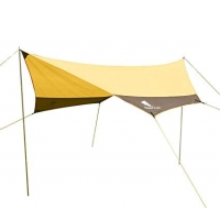 Best Silver Coated Polyester 8 Persons Camping Sun Canopy wholesale
