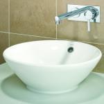 Best sanitaryware round under counter basin vanity cabinet washing sink bathroom ceramic basin set wholesale
