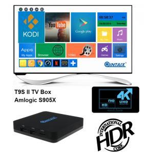 T9SII Android 6.0 TV Box 1G/2G+8G Amlogic S905X Chip 4K Kodi Full HD Smart Media Player QINTEX/QINTEAIX