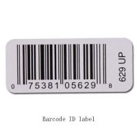 Best White Custom Thermal Transfer Print Label For Barcode QR Code Serial Number wholesale