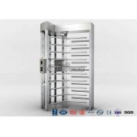 Cheap High Security Full High Turnstile Access Control With Biometric Reader With CE for sale