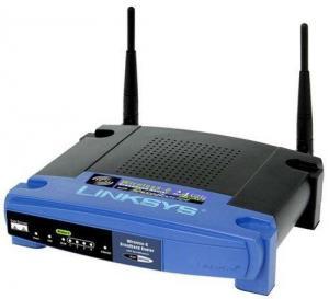 Linksys WRT54GS Wireless-G Broadband Router