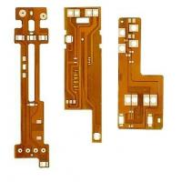 Best Flexible Circuit Double Sided PCB Boar W / Yellow Solder Mask ENIG Surface Finish wholesale