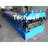 Best 18 Forming Stations Roof Roll Forming Machine With Manual Or Hydraulic Type Decoiler / Uncoiler wholesale