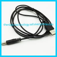 China Black 5V USB to DC Cable for Camera USB Charger Cable on sale