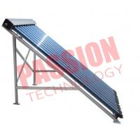 Best 15 Tubes Pressurized Solar Collector , Solar Heat Pipe Collector For Hotel wholesale