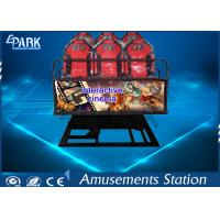 China Digital Control 5D Movie Theater / 5D Cinema Equipment With 9 Stander Seats on sale
