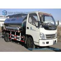 Quality Foton 2000 L - 4000 L Small Bitumen Asphalt distribution truck 95hp wholesale