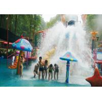 Buy cheap Colorful Aqua Playground Fiberglass Water Slide , Theme Park Equiment from wholesalers