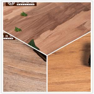 Best 3W Avoid Glue/Interlocking/Environmental Protection/Home DecK/Wood Grain PVC Floor(6-8mm) wholesale
