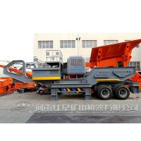 China Price for tire movable coal impact mobile stone crusher on sale