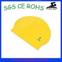 Cheap Adult latex swim caps for swimming for sale