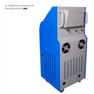 Best 15kg Big Cylinder Car AC Service Station 1000g/Min Charging Ability wholesale