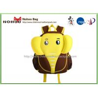 Best Fashion 3D Carton Elephant Shape Children School Bags kids Shoulder Bag wholesale