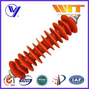 Best 60KV 5KA High Voltage Polymeric Lightning Arrester for Power Station wholesale
