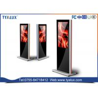 Quality Customized flexible display screen lcd media player , wifi totem digital signage wholesale
