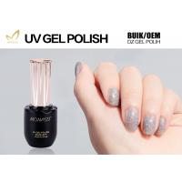 Best Eco Friendly Glitter Gel Nail Polish For LED Lamp 30 Seconds Cure Time wholesale