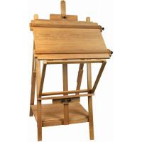 Best Portable Table Top Painting Easels For Large Frame , Tabletop Drawing Board Easel 128cm Height wholesale