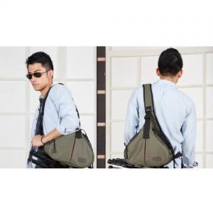 Cheap Caden K1 Army Green Waterproof Fashion Casual DSLR Camera Bag Case Messenger for sale
