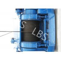 Best Mining Underground Hydraulic Crane Winch High Strength Steel With Bule / Yellow Color wholesale