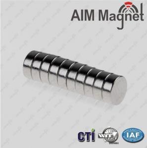 N 42 disc nickel-coating industrial application neodymium magnet