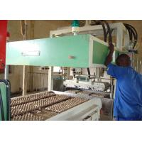 Quality Automatic Reciprocating Waste Paper Egg Carton Making Machine for Electronic Package Production Line wholesale