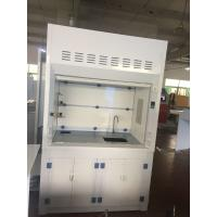 Best Laboratory Furniture Safe Ductless Fume Hood Exhuasted System CE / ISO wholesale