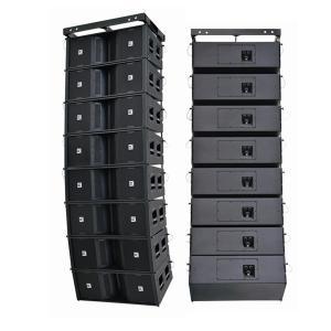 China big outdoor line array system + line array dj speaker+sound system power amplifier on sale