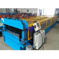 China Building Material Metal Roof Roll Forming Machine 3 Phase 380V For Roofing Cladding on sale