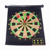 Best 17-inch Magnetic Dartboard, Available in Different Shapes, Soft and Lightweight, Eco-friendly wholesale
