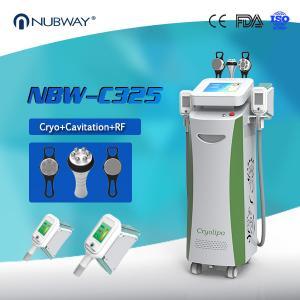 Beauty Equipments Cavitaion RF Weight Loss Fat Freezing Cryolipolysis slimming machine