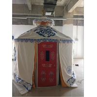 Best Windproof Luxury Mongolian Yurt With Insulation Blanket Inside Decorative wholesale