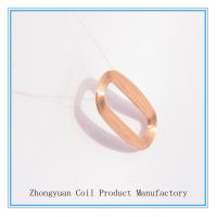 Cheap Round Wireless Qi Transmitter Coil , Super Thin Inductive Charging Coils for sale
