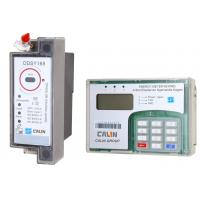 China Split Type STS Prepaid Meters , Din Rail Power Meter With Ciu Pole Mounting on sale