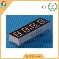 Best Cheapest price selling super green mini 4 digit 7 segment display common anode wholesale