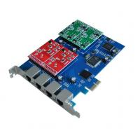 Best VOIP telephony cards,4FXS/FXO Asterisk PCI-Express card wholesale