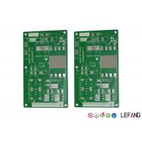 China MCPCB Metal Core FR4 PCB Board 1 Layer Green Solder Mask For Power Supply on sale