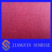 Best Anti - Mildew Red 210D Nylon Oxford Fabric For Bag Waterproof Ripstop Nylon Fabric wholesale
